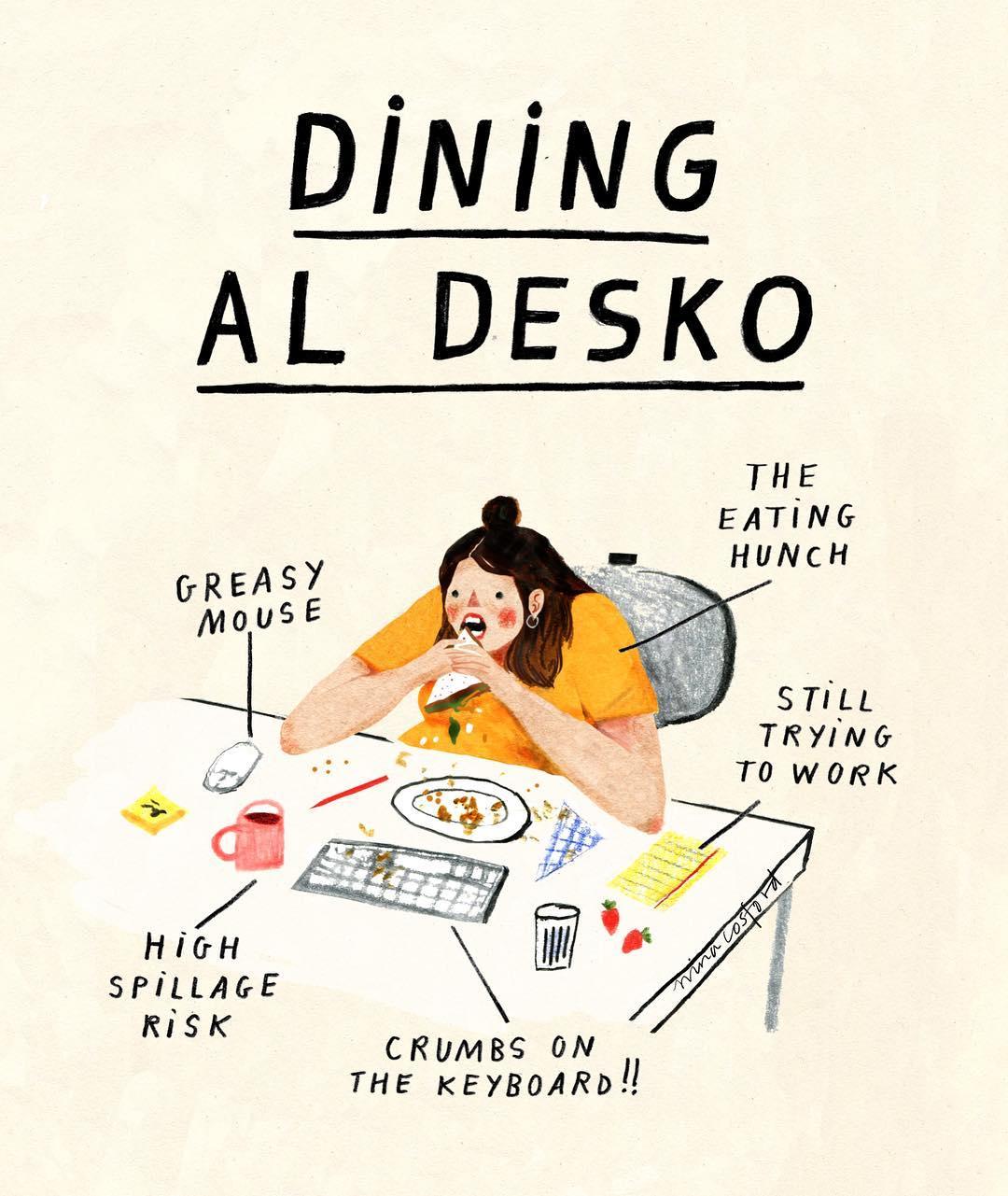 Dining Al Desko