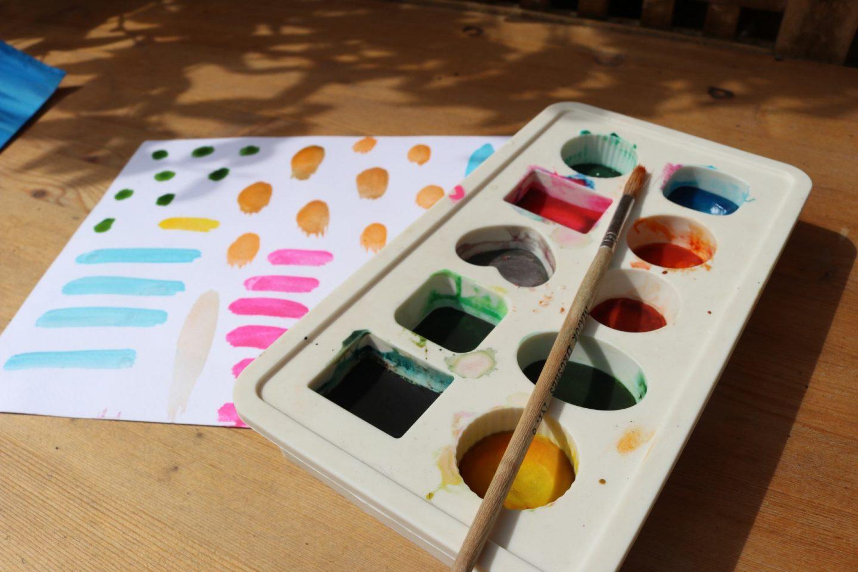 DIY Watercolour Paints