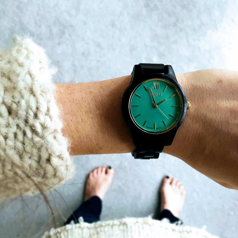 An Irresistible Wooden Watch