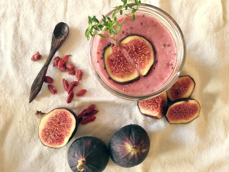Delicious Coconut Berry Smoothie