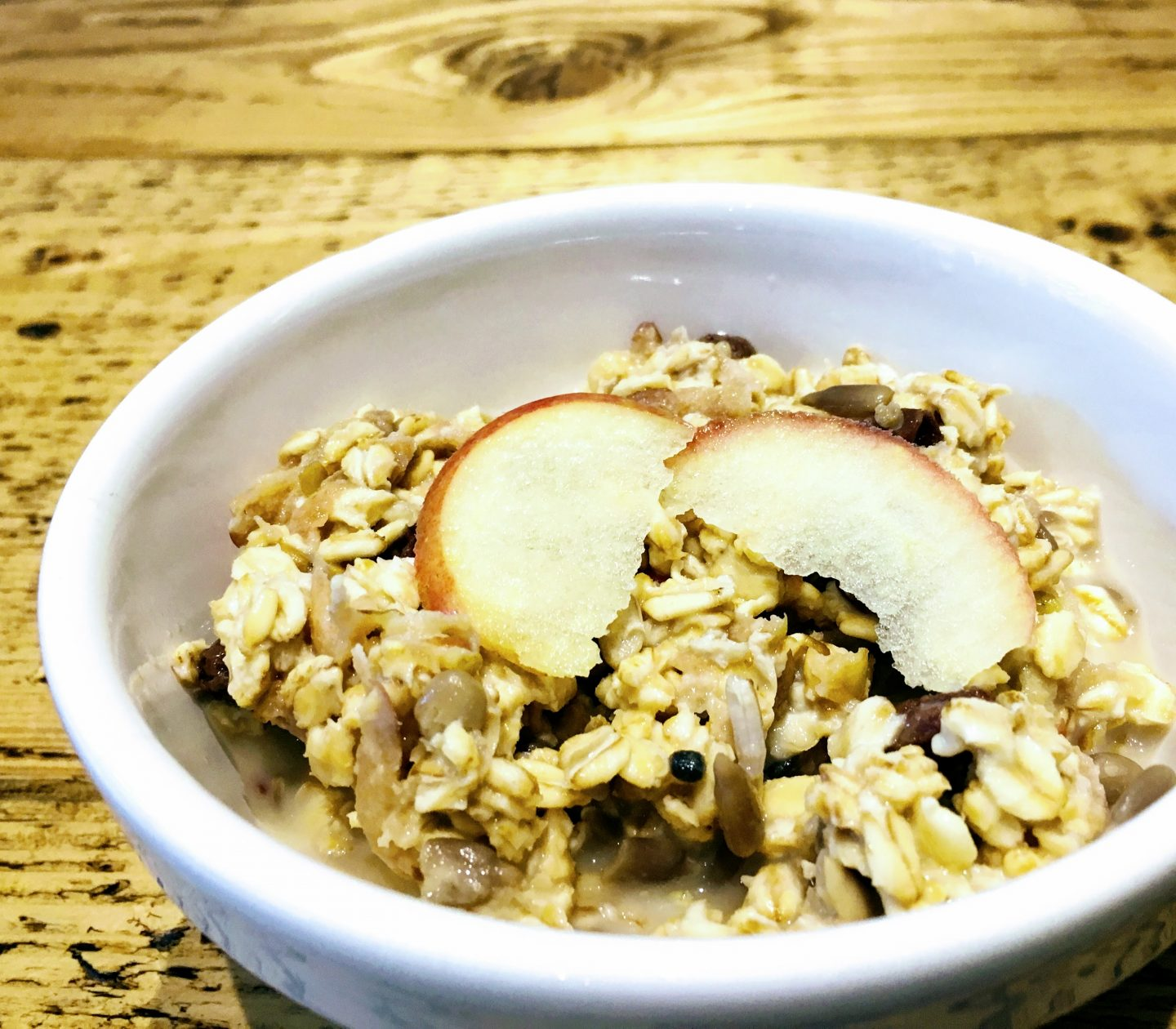 Perfect Weekend Apple Bircher Muesli
