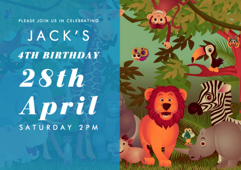 Admittedly A Jungle Themed Party For Crazy Plant Lady Is Pretty Much Ideal And Yes When Jack Was Choosing Between That PJ Masks