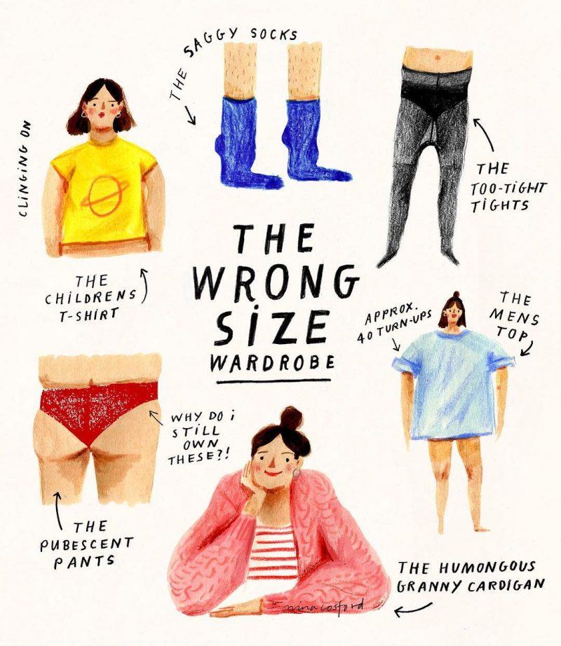 The Wrong Size Wardrobe